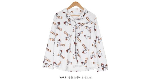 Pajamas ready for winter hibernation