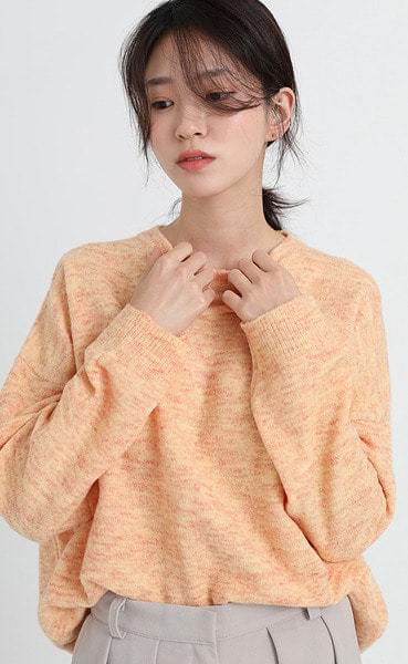 jelly round knit (5colors)