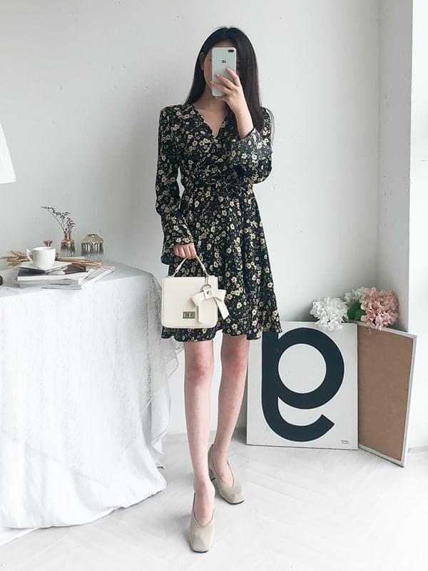 Shining Floral Dress