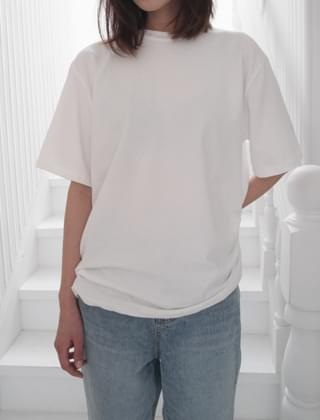 well tension half sleeve T-shirt (4colors)