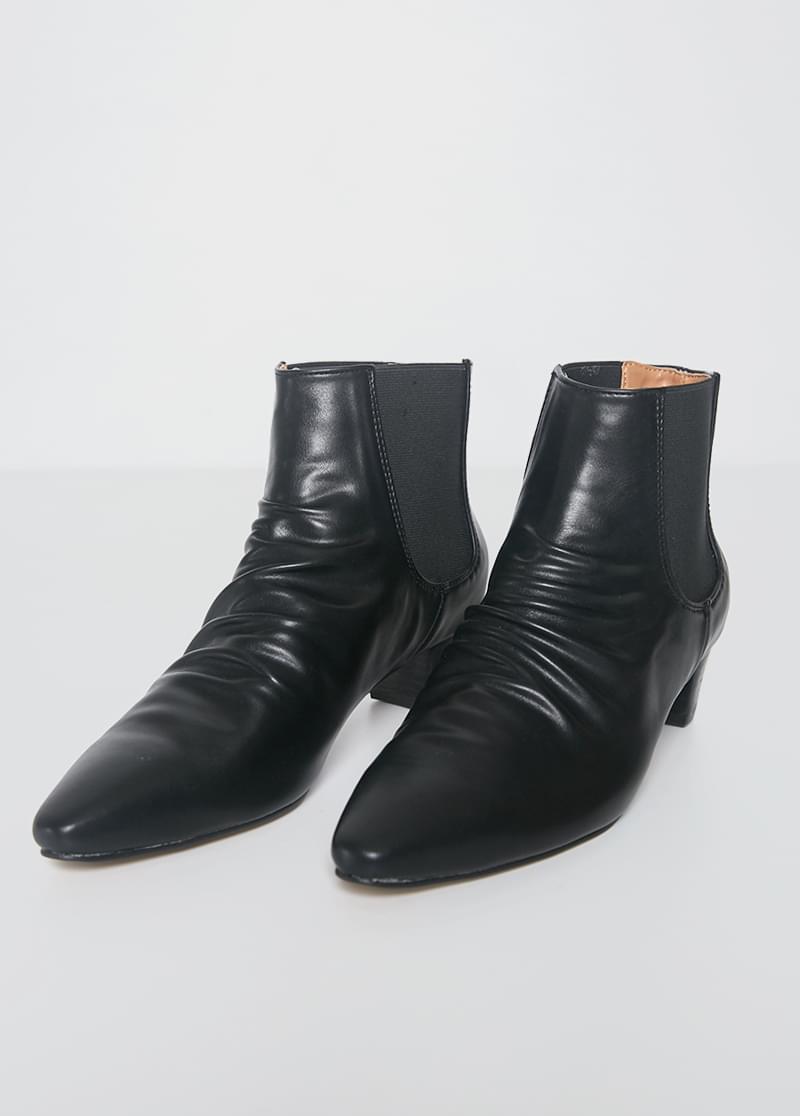 Shirring Sharp Boots