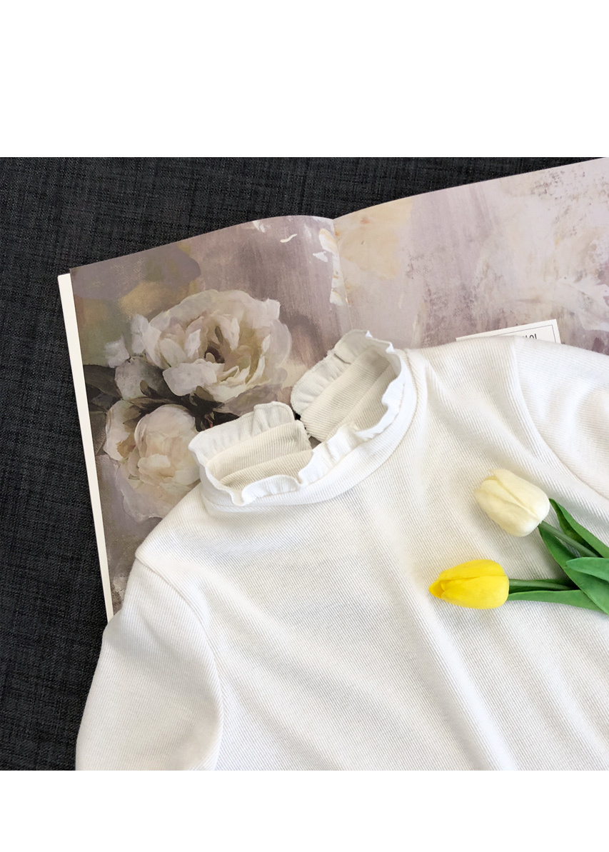 Frill and frilly tee