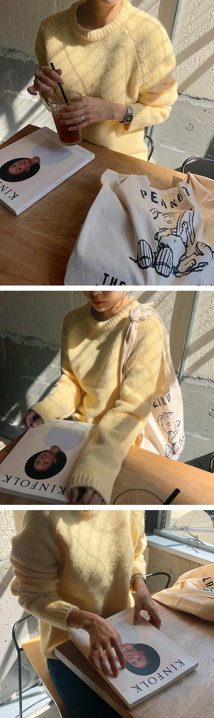 Merci color alpaca knit_M (size : free)[예약발송 : 10월 중순 입고]