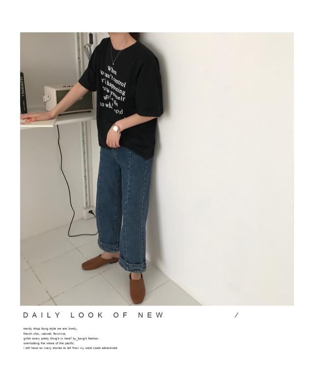 HEFFINGING English printing short sleeve polo shirt