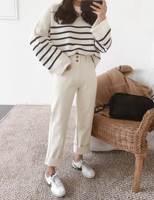 Pocahigh wide pants
