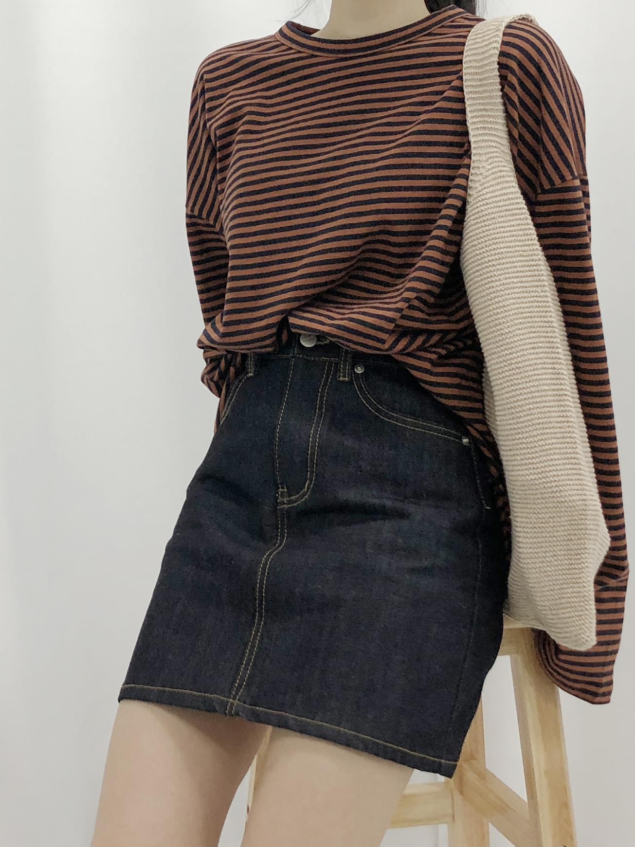 Biji A line skirt