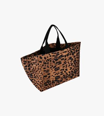 Leopard fabric bag