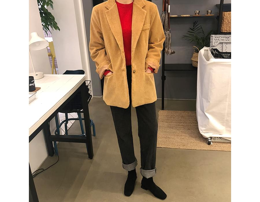 Made_outer-120_corduroy jacket_M (size : free)