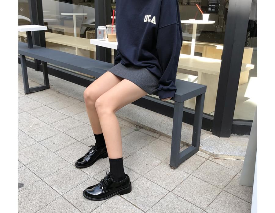 Stone wool mini skirt_Y (size : S,M)