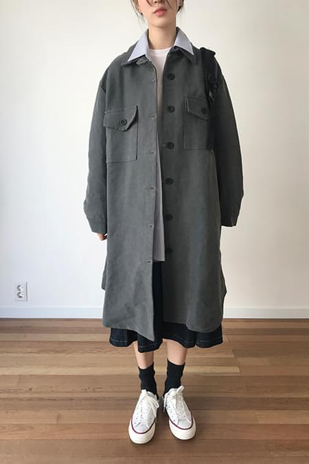 thick tom boy coat (3colors)