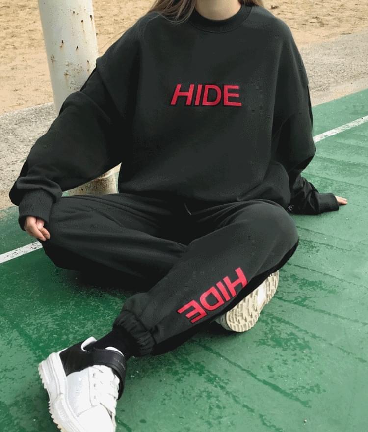 HIDE Logo Sweat Pants