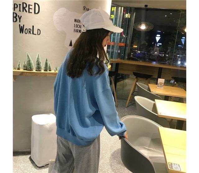 Hem Round Mini Man-to-man T-shirt
