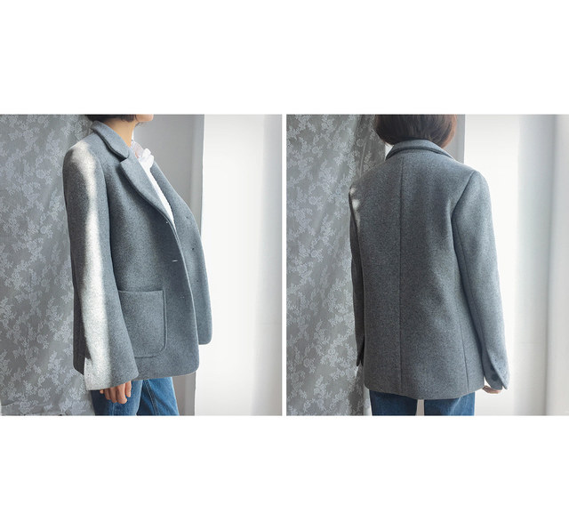 Single Merry Wool Jacket