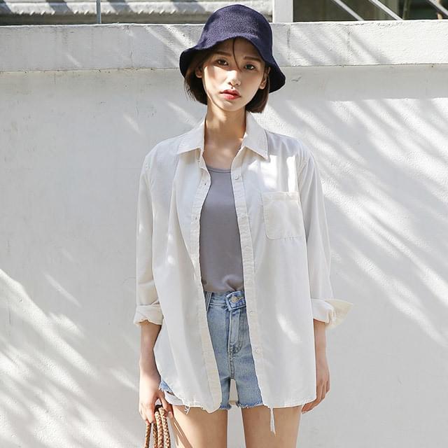 thin simple shirts