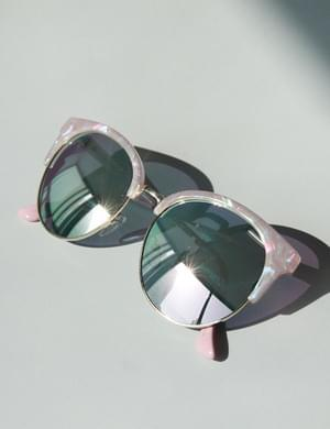 Purple Pink Sunglasses