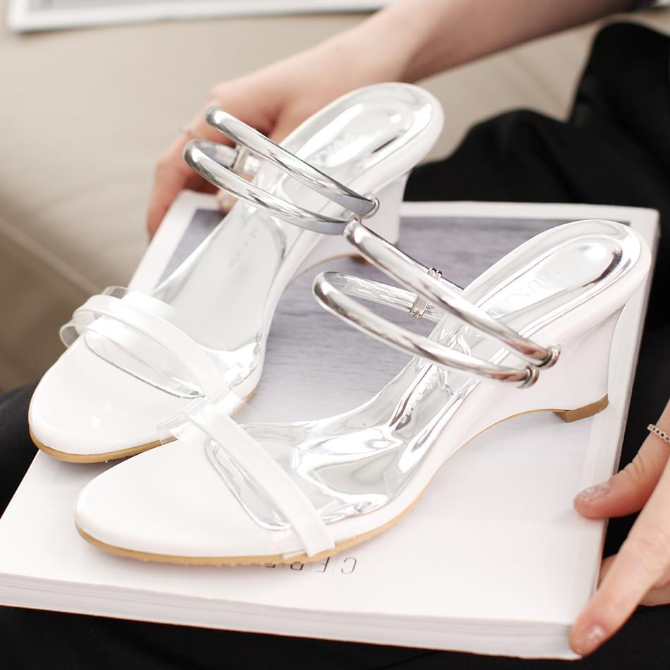 Petora Wedge Sandals & Mule 6cm