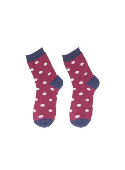 Color dot socks