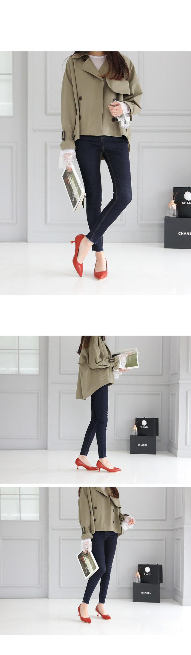 Bronze Stiletto Heel 5.5cm