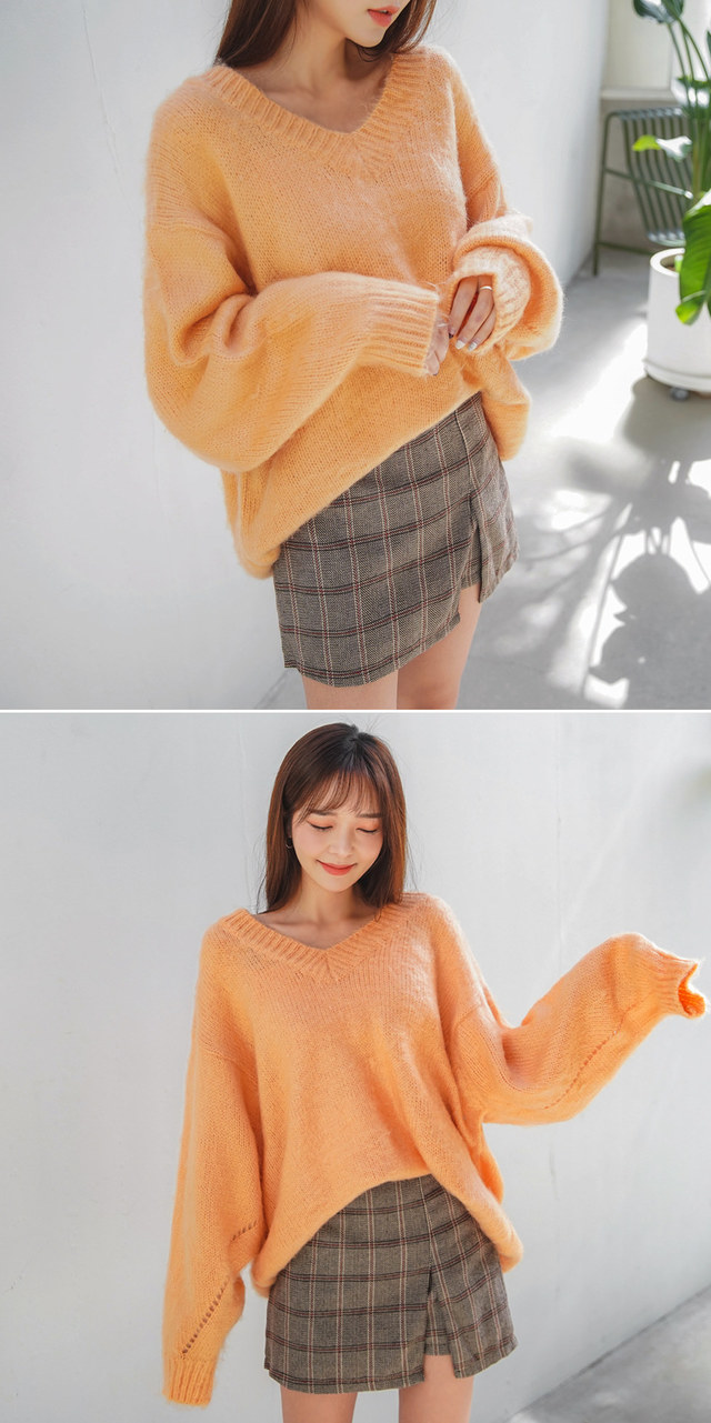 Soft wool knit