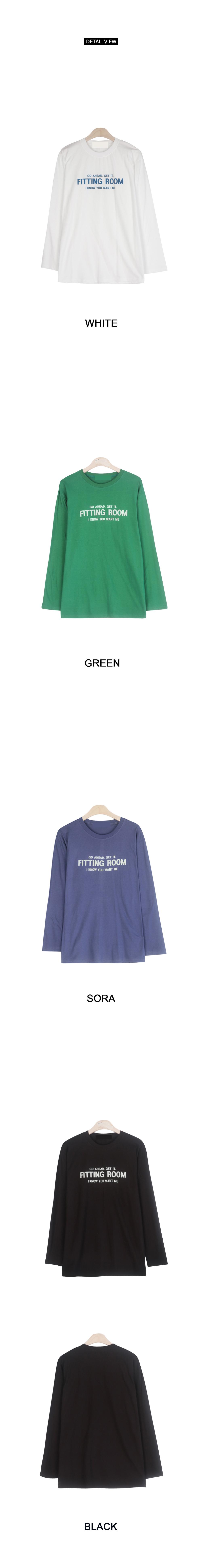 Get It Fitting Room Long Sleeve Tee