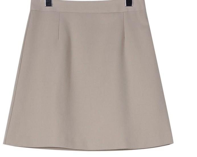 Cozy A-line mini skirt