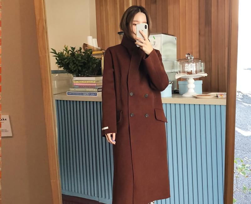 Double Merci Handmade Wool Coat