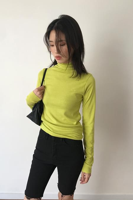 high poloneck knit (4colors)