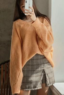 Soft wool knit