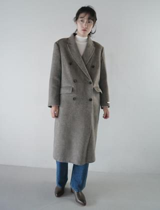 duck down inner handmade coat (3colors)