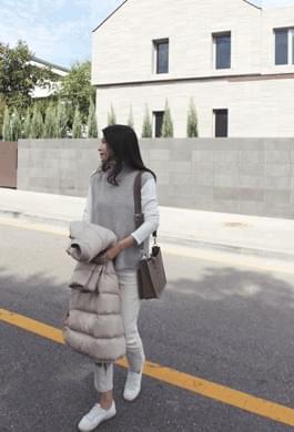 A really pretty fit knit vest