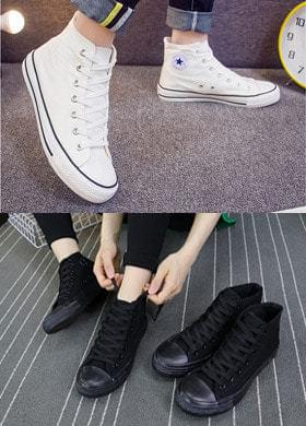 Couple Sneakers Canvas Shoes