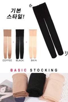 1 + 1 basic stockings