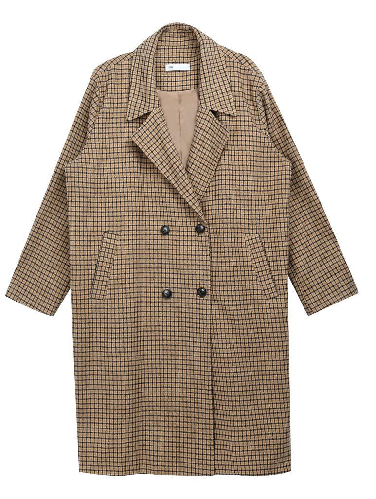 Essay Check Long Coat (Wool 10%)
