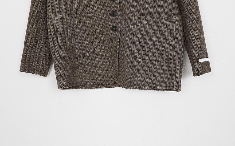 handmade many button jacket (2colors)