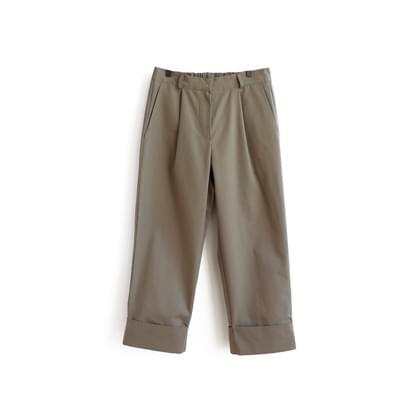 Toto pin tuck bending pants