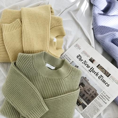 Mug loose fit round knit
