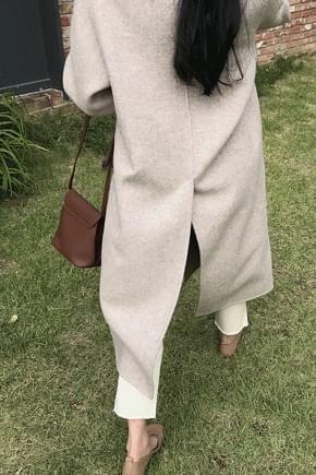 Bruno herringbone handmade coat * Proceed alone, ordering runaway! Save up to 10/18
