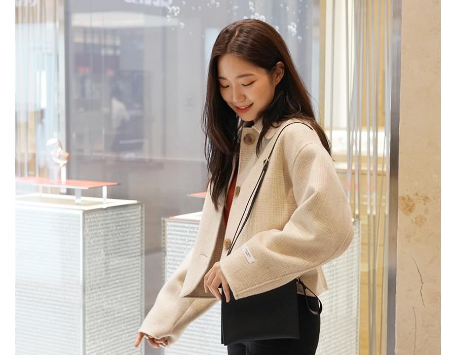 Margaret check handmade jacket_S (울 90%) (size : free)