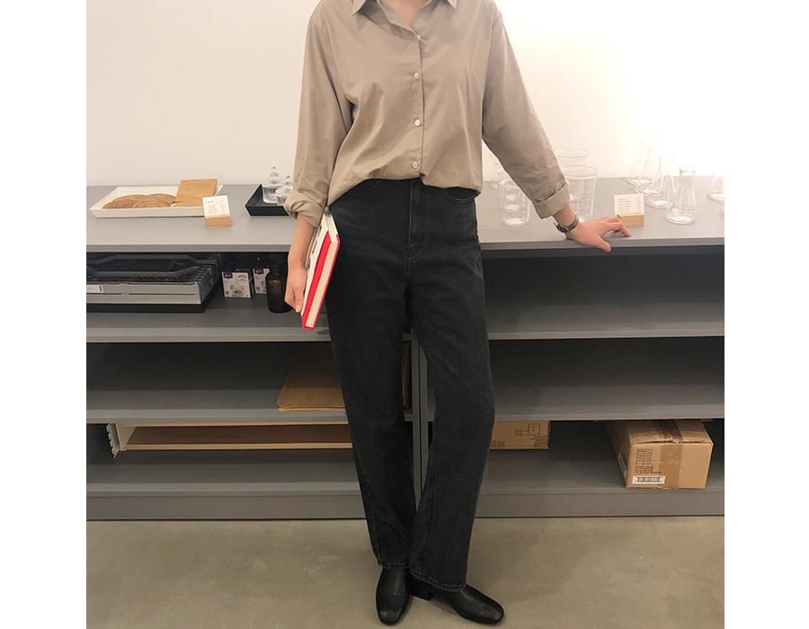 Like boy-fit long denim_K (size : S,M,L)