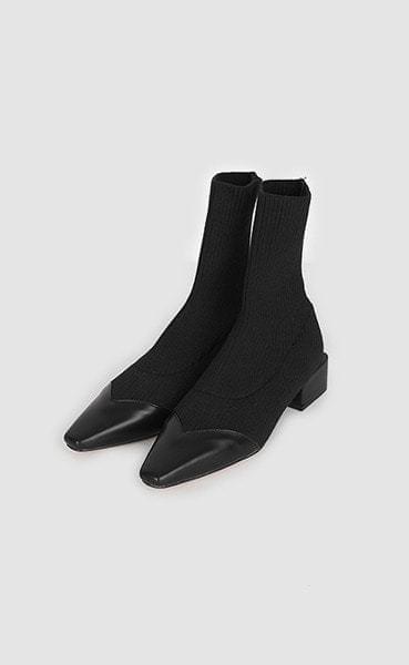like socks ankle boots (2colors)