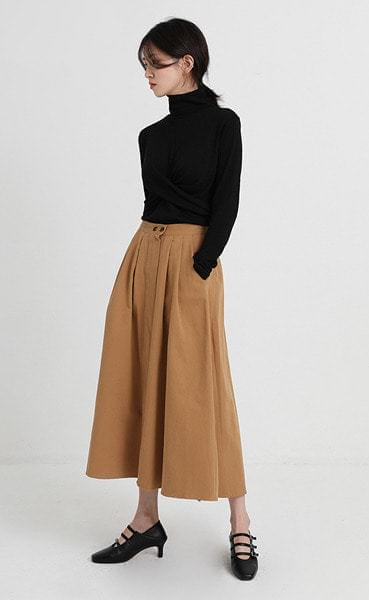 espana flare skirt (3colors)