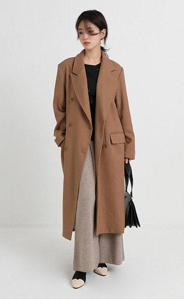 andy long double jacket (3colors)