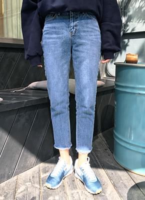 Salt Slim Straight Denim Pants