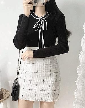 Windy ribbon knit