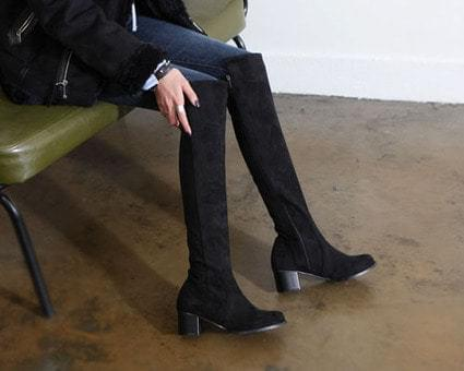 Athleton Suede Long Boots