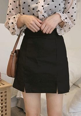 Turuby-trimmed mini skirt
