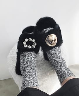 Warm slippers warmer than boots