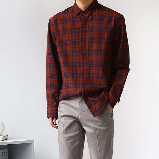 Centum Hidden Check Shirt