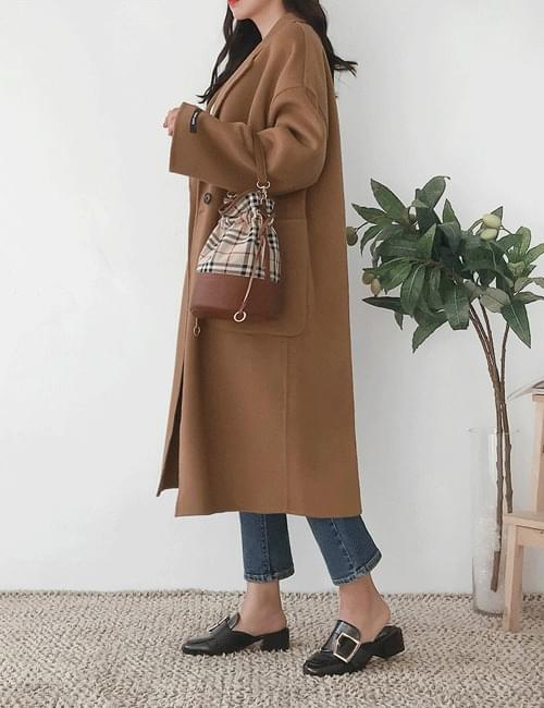 Vera double wool coat