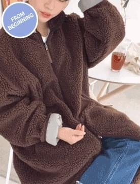 Vintage long fleece_unisex_B (size : free)